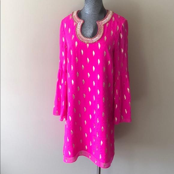 722fc43a9bdf15 Lilly Pulitzer amory silk dress. Listing Price: $120.00